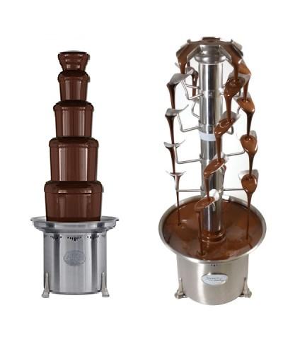 Schokoladen Füllmenge Für Schokobrunnen Wie Viel Schokolade Passt